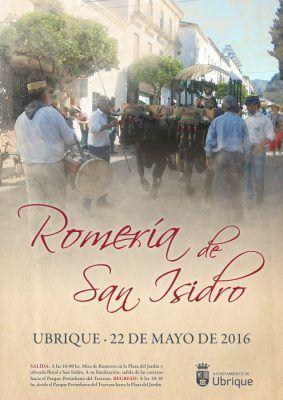 Cartel-Romería-de-San-Isidro-2016-Ubrique